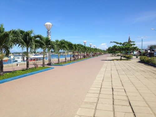 Puerto Princesa City Baywalk Park, Palawan, Philippines