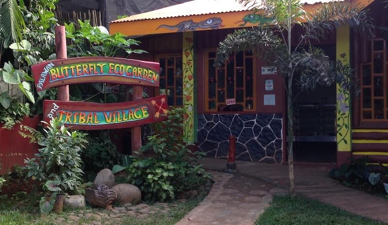 Butterfly Ecogarden & Tribal Village in Puerto Princesa, Palawan