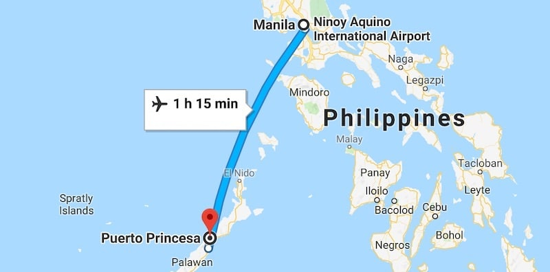 How To Go From Manila To Puerto Princesa