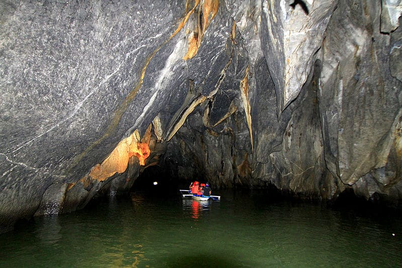 Inside the Underground River, Puerto Princesa
