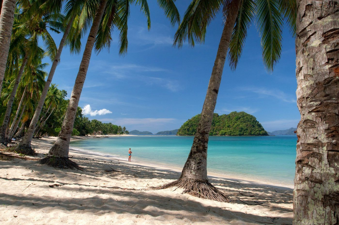 Marimegmeg Beach In El Nido Palawan Tikigo