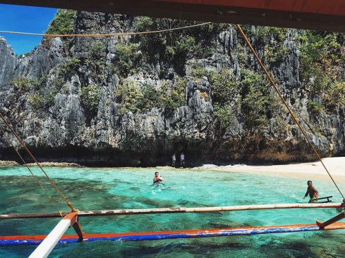 Star Beach in El Nido, Palawan