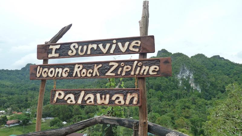 Ugong Rock Adventres, Zipline in Puerto Princesa, Palawan